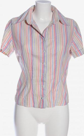 Nadine H Kurzarm-Bluse in M in blau / pastellgelb / pink, Produktansicht