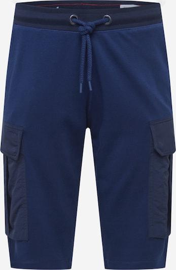Pantaloni cu buzunare s.Oliver pe albastru închis / negru, Vizualizare produs