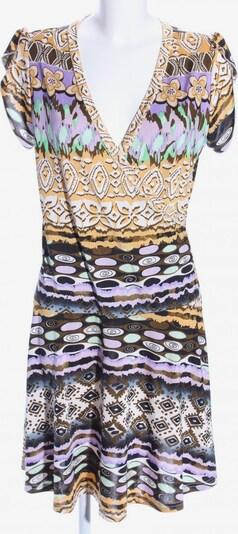 Sweet Miss Wickelkleid in XL in braun / pastellgelb / lila, Produktansicht