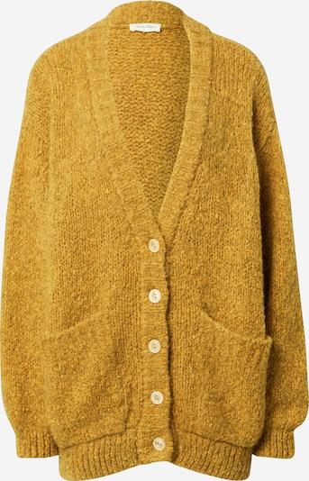 AMERICAN VINTAGE Cardigan 'Tudbury' en jaune, Vue avec produit