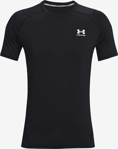 UNDER ARMOUR Funktionsshirt in schwarz / weiß, Produktansicht
