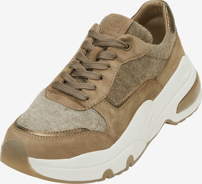 Marc O'Polo Sneakers in Beige / Light brown / Gold, Item view