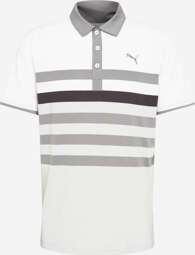 PUMA Functioneel shirt 'One Way' in de kleur Grijs / Lichtgrijs / Zwart / Wit, Productweergave