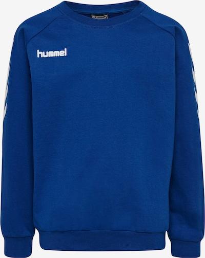 Hummel Sportief sweatshirt in de kleur Blauw, Productweergave