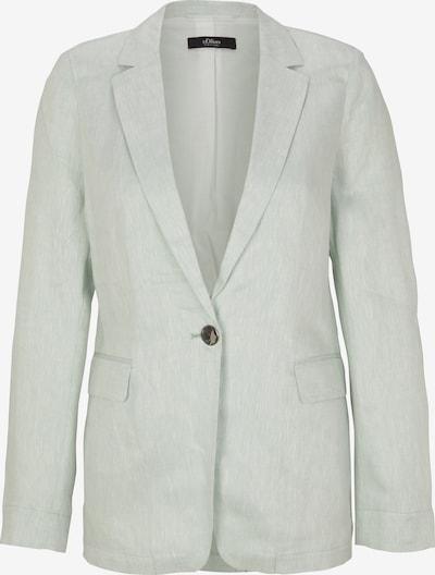 s.Oliver BLACK LABEL Blazer in mint, Produktansicht
