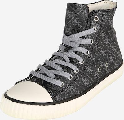 GUESS Sneakers high 'EDERLE' in grey / black, Item view