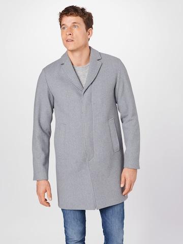 SELECTED HOMME Between-seasons coat 'HAGEN' in Grey