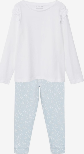 MANGO KIDS Pyjama 'Lucia' in pastellblau, Produktansicht