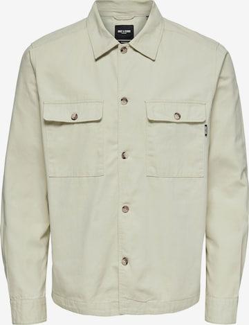 Only & Sons Between-season jacket 'Ilvio' in Beige