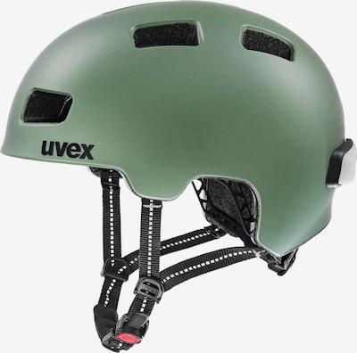 UVEX Fahrradhelm 'City 4' in pastellgrün / schwarz, Produktansicht