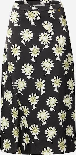 Fabienne Chapot Rok 'Claire' in de kleur Mosterd / Zwart / Wit, Productweergave