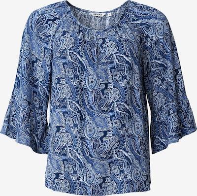 Indiska Bluse 'DOLLIE' in dunkelblau / weiß, Produktansicht