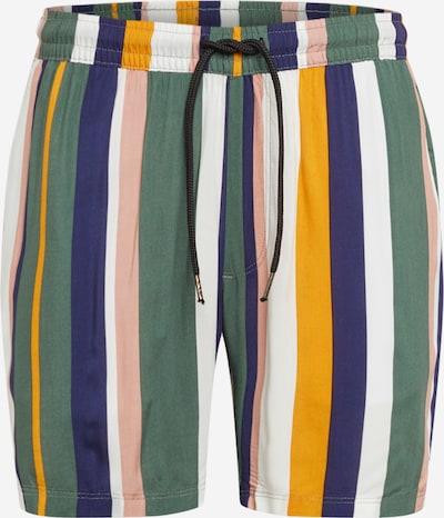 Redefined Rebel Kalhoty 'RRRick Shorts' - žlutá / zelená / bílá, Produkt