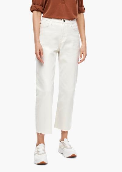 s.Oliver Jeans in white denim, Modelansicht