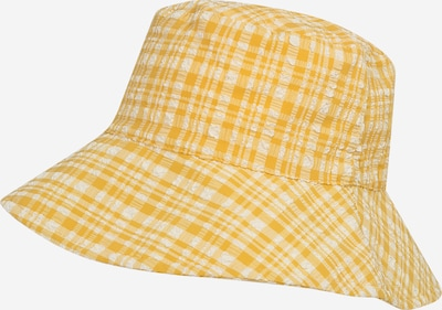 MANGO Kapa | rumena / bela barva, Prikaz izdelka
