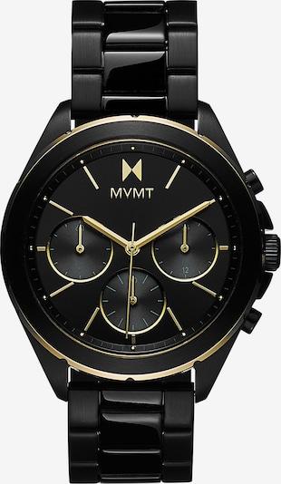 MVMT Analoguhr in schwarz, Produktansicht