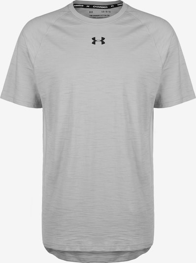 UNDER ARMOUR Camiseta funcional en gris moteado / negro, Vista del producto