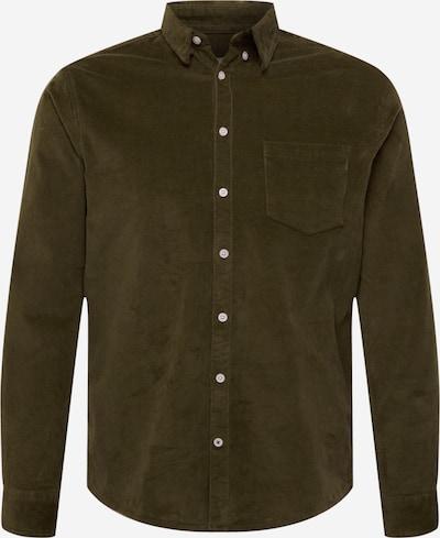 Kronstadt Hemd 'Johan' in dunkelgrün, Produktansicht