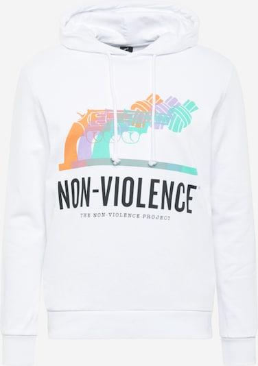 menta / világoslila / narancs / fekete / fehér JACK & JONES Tréning póló 'NONVIOLENCE', Termék nézet