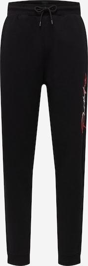 Pantaloni River Island pe roșu / negru / alb, Vizualizare produs