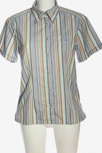 Schöffel Kurzarmhemd in S in türkis / braun / pink, Produktansicht