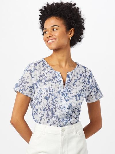LIEBLINGSSTÜCK Bluse 'Fides' in blue denim / weiß, Modelansicht