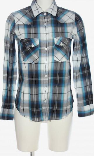 Ezekiel Langarmhemd in S in blau / schwarz / weiß, Produktansicht