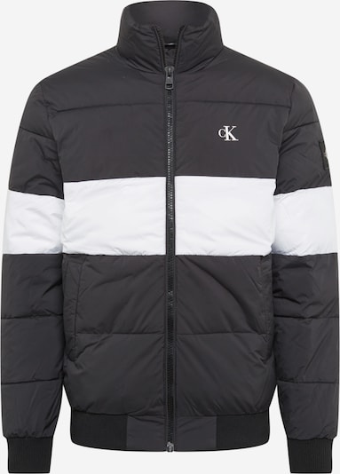 Demisezoninė striukė iš Calvin Klein Jeans , spalva - margai juoda / balkšva, Prekių apžvalga