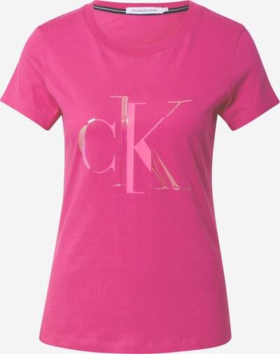 Calvin Klein Jeans T-Shirt 'Distorted' in pink, Produktansicht