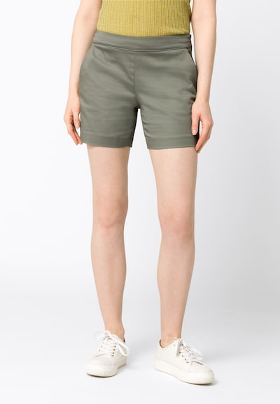 HALLHUBER Shorts 'Amalia' in khaki, Modelansicht