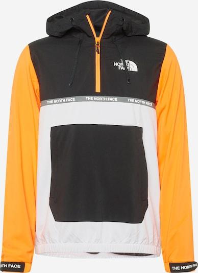 THE NORTH FACE Outdoorová bunda - oranžová / čierna / biela, Produkt