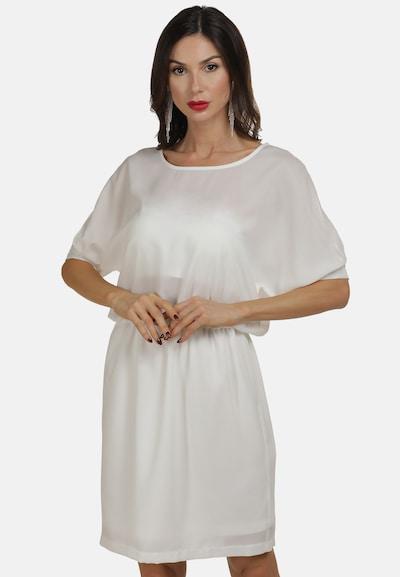 Rochie de vară faina pe alb, Vizualizare model