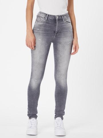 ONLY Jeans 'ONLFOREVER HIGH LIFE HW SK DT REA926' in Grijs