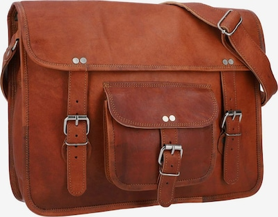 Gusti Leder Messenger Bag 'Gusti Leder Nick' in braun, Produktansicht