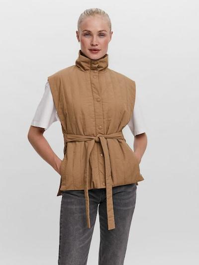 VERO MODA Vest 'Roxy' in Brown: Frontal view