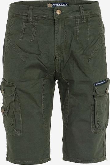 CIPO & BAXX Shorts 'Safari' in khaki, Produktansicht