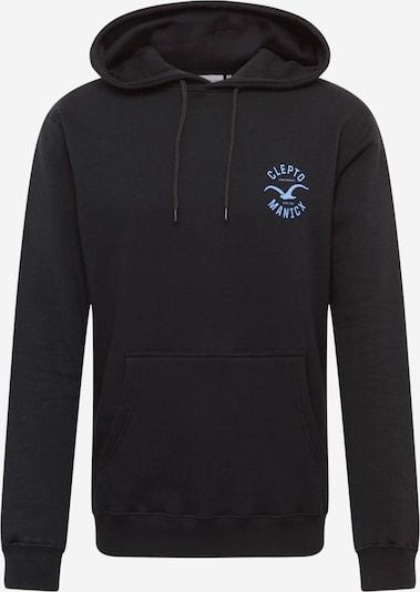 Cleptomanicx Sweatshirt 'Games' in blau / schwarz, Produktansicht