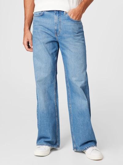 WEEKDAY Jeans in blue denim, Modelansicht