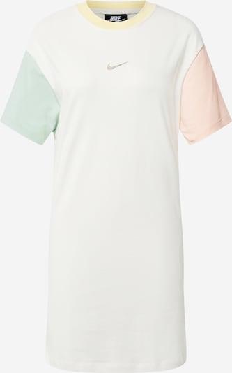 Nike Sportswear Robe en vert pastel / rose pastel / blanc, Vue avec produit
