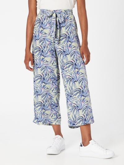 DeFacto Pantalon en bleu / turquoise / bleu foncé / violet, Vue avec modèle