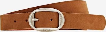 ESPRIT Gürtel 'Aria' in Braun