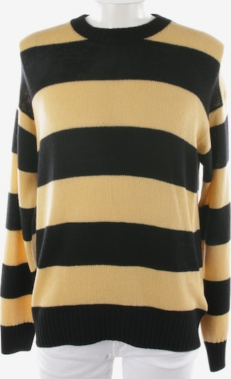 PRADA Kaschmirpullover in L-XL in beige / schwarz, Produktansicht