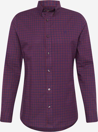 BURTON MENSWEAR LONDON Hemd in blau / burgunder / schwarz, Produktansicht