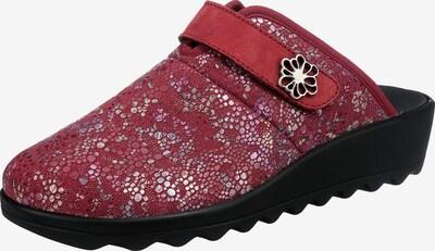 Westland by JOSEF SEIBEL Pantoffeln ' Gina' in lila / bordeaux / silber, Produktansicht