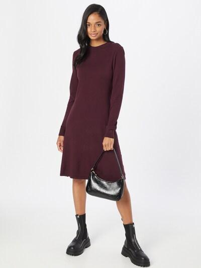 VILA Kleid in weinrot, Modelansicht