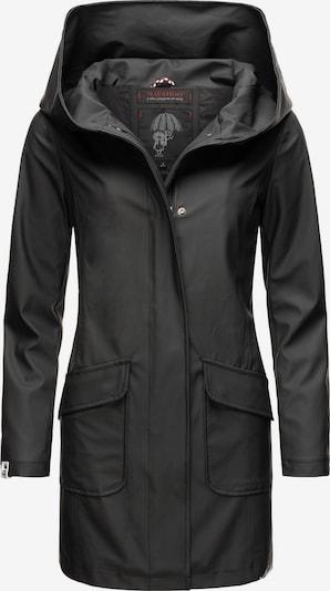 NAVAHOO Regenmantel in schwarz, Produktansicht