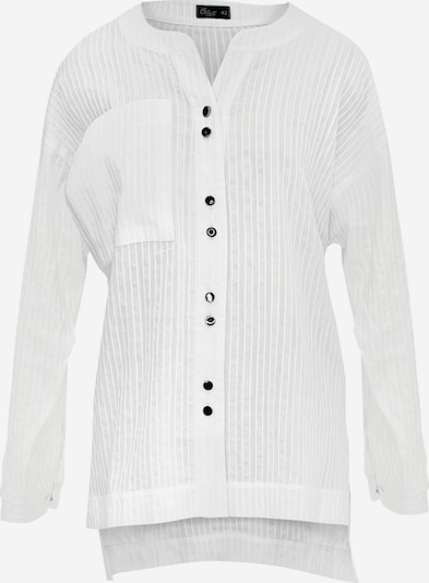 Wisell Hemdbluse in weiß, Produktansicht