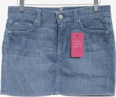 7 for all mankind Jeansrock in XS in blau: Frontalansicht