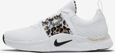 NIKE Sportschuh in beige / schwarz / weiß, Produktansicht