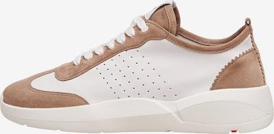 LLOYD Sneaker mit Kontrastelementen in beige, Produktansicht